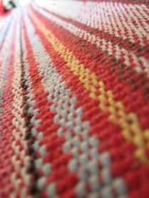 The rug at our place - just like this shot.