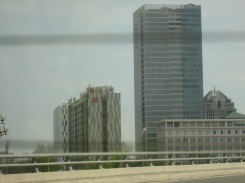 Their hotel - on the left.