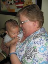Chewing on Grammie!