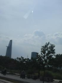 Bitexco - 63 stories and the tallest building in Vietnam.