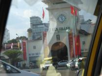 Ben Thanh market - the most famous market in Saigon.