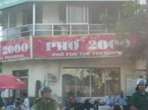 Pho is a famous Vietnamese soup and this restaraunt is where Bill Clinton ate when he visited.