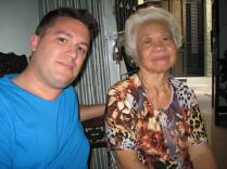 David and Lam's Grandmother.