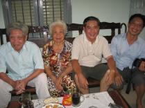 Lam's Grandfather, Grandmother, Uncle Hai and Uncle Hoang.