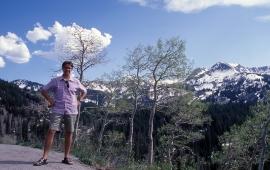 David on mountain