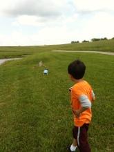 Boys wandering