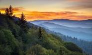 Great Smoky Mountains. Courtesy of Gettysburg.edu.