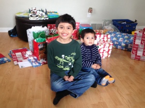 Jacob and his little brother James
