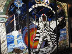 A Mosaic inside the Cosmosphere in Hutchinson, Kansas