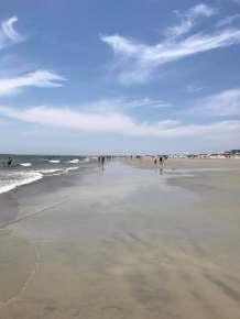 beach right in front of condo