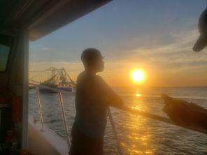 Jacob contemplating the ocean